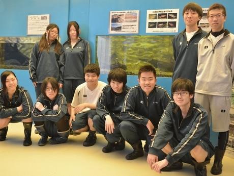 志摩マリンランドに「高校生水族館」、三重県立水産高校とコラボ