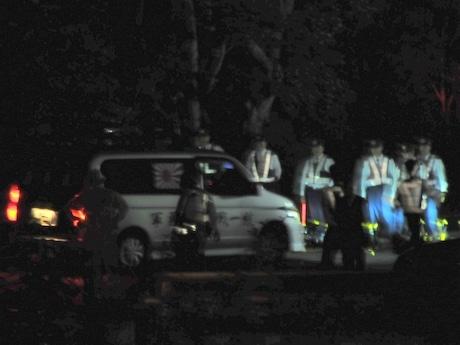 「伊勢志摩サミット」賢島入り口に右翼団体の車、一時騒然となる