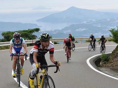 「伊勢志摩スカイラインヒルクライム」 標高500メートル朝熊岳を自転車で