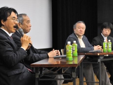 「胎内記憶」めぐる映画に出演の伊勢出身大門正幸さん、池川明さんらトーク
