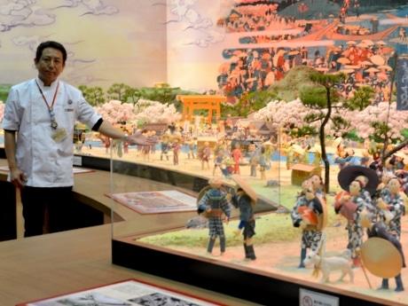 「お伊勢さん菓子博」明日開幕 「吉田沙保里を探せ!」巨大工芸菓子の中に