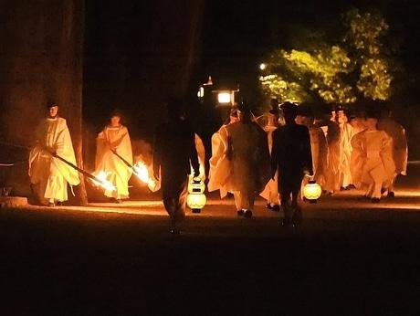 満天の星空の下、伊勢神宮で五穀豊穣祈る「月次祭」 偏西風の蛇行による少雨懸念も