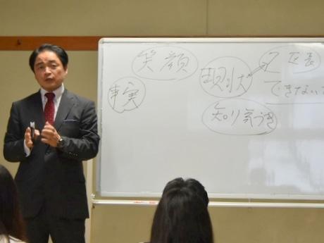 伊勢で第1回未来創生勉強会、小樽を変えた元公務員・木村俊昭さんの講演会(写真=林達也)