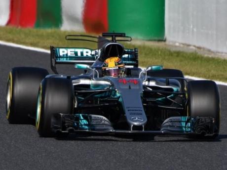F1日本GP、メルセデス・ハミルトン選手がポール・トゥ・ウィンで鈴鹿を制す(写真=加藤直人)