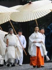 伊勢神宮黒田清子祭主、初奉仕の神嘗祭は3日間「お清めの雨」