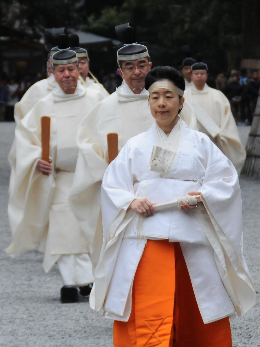 伊勢神宮で月次祭 黒田清子神宮祭主が3日間奉仕