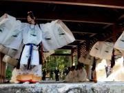 伊勢神宮内宮で神様の新年会「一月十一日御饌」