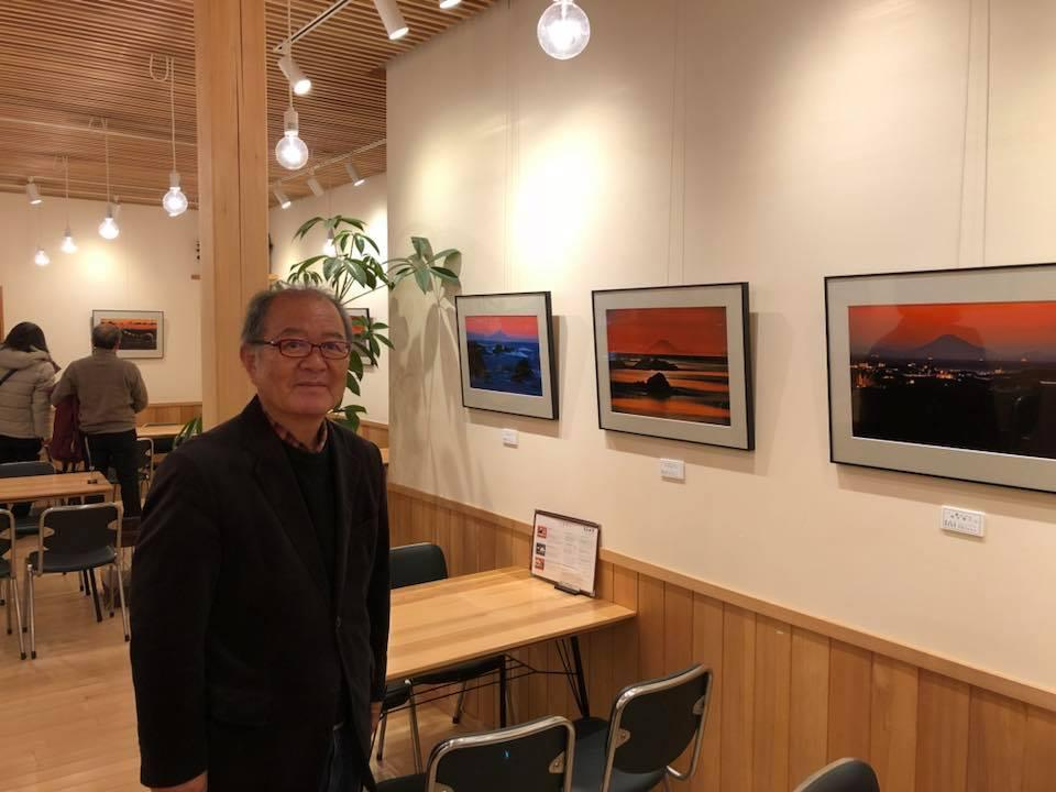 志摩市在住の写真家・泊正徳さん 200キロ以上離れた富士山の写真展