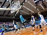 伊勢・サンアリーナでプロバスケットボール「Bリーグ」公式戦 京都対滋賀