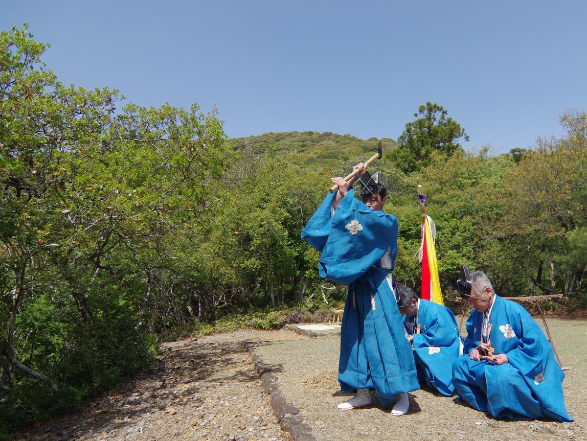伊勢神宮で「大麻」の元となる木を切り始める祭典「大麻用材伐始祭」