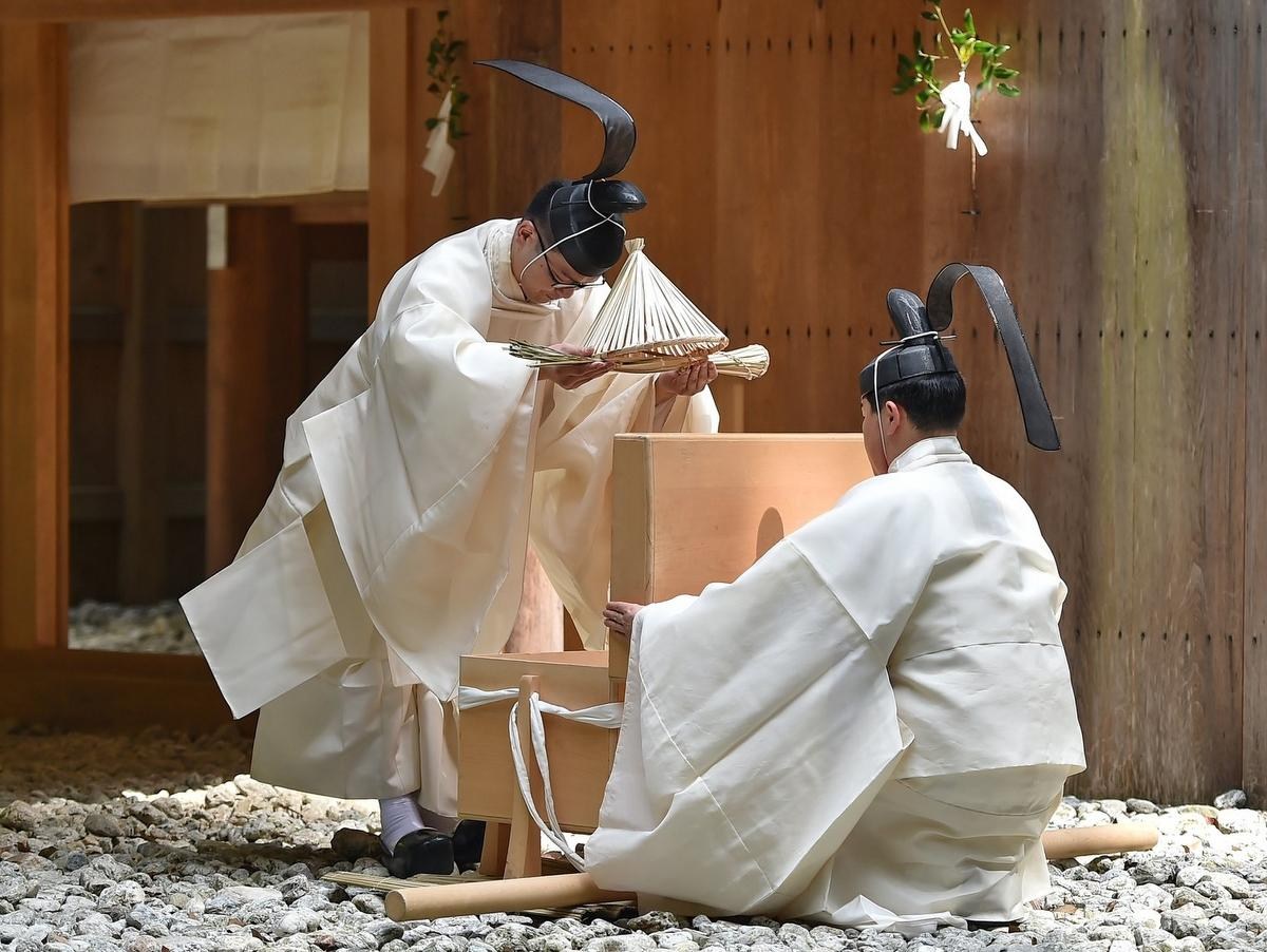 伊勢神宮で「風日祈祭」と「神御衣祭」 適度な雨と風が吹きますように