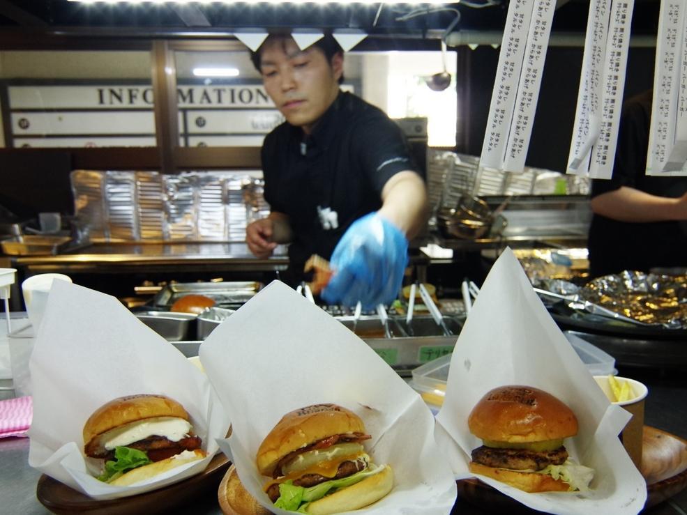 伊勢に「ジャックバーガー」 地元事業者と協力して本格ハンバーガー