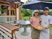 志摩のピザ専門店開業2年に 「サーフィンでハッピーに」と国府浜そばに