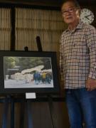 志摩市在住の泊正徳さんが写真展「心のふるさと伊勢神宮」 鳥羽大庄屋かどやで