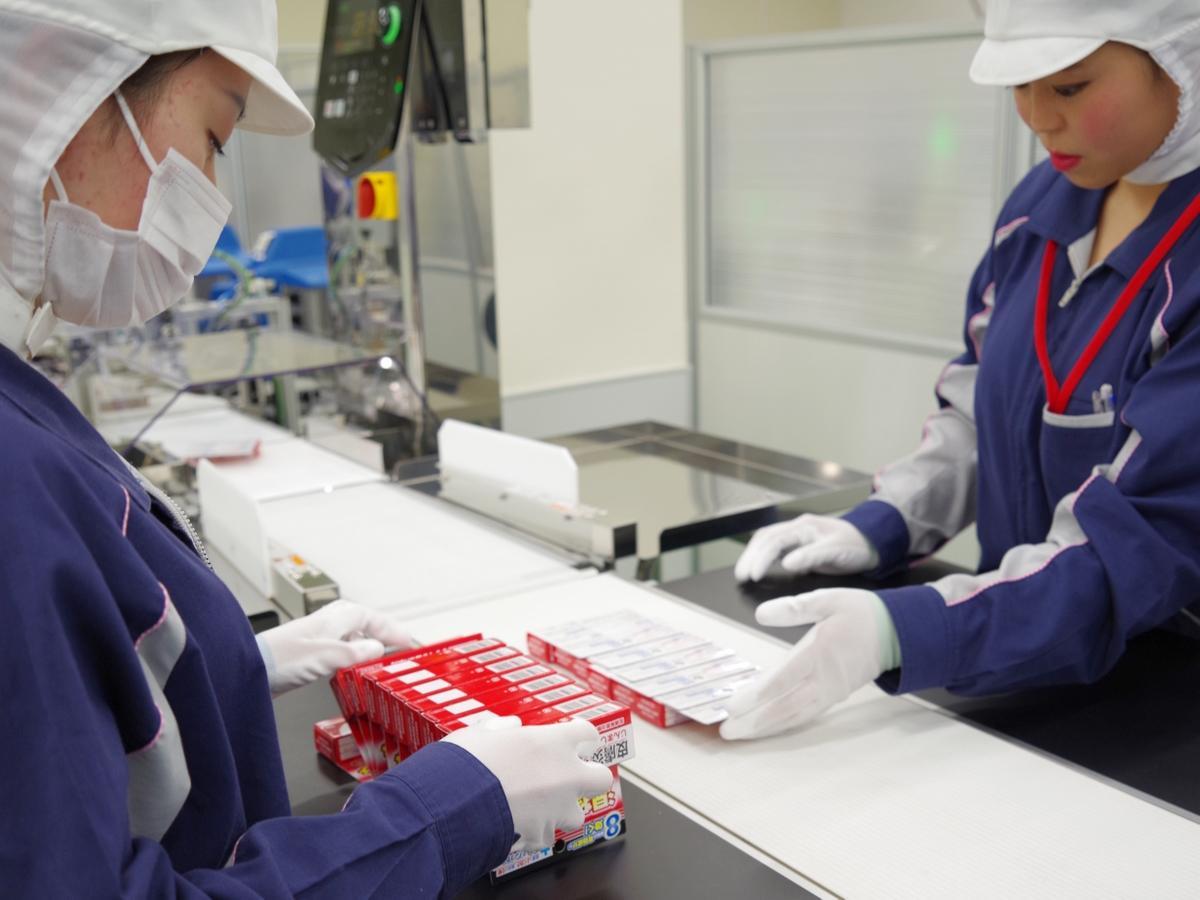 三重県・多気の万協製薬、梅雨に入って水虫薬の製造ラインがフル稼働