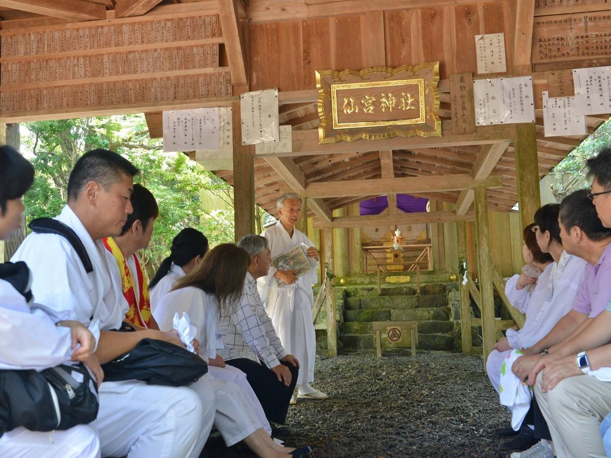 伊勢神宮・古神道を学ぶ研修会 ルーツ求め南伊勢町の仙宮神社にも