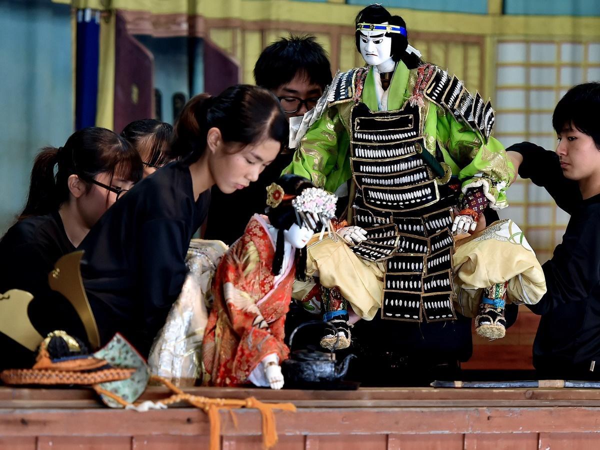 志摩で400年以上続く人形浄瑠璃「安乗文楽」上演 東海中学校「郷土芸能クラブ」