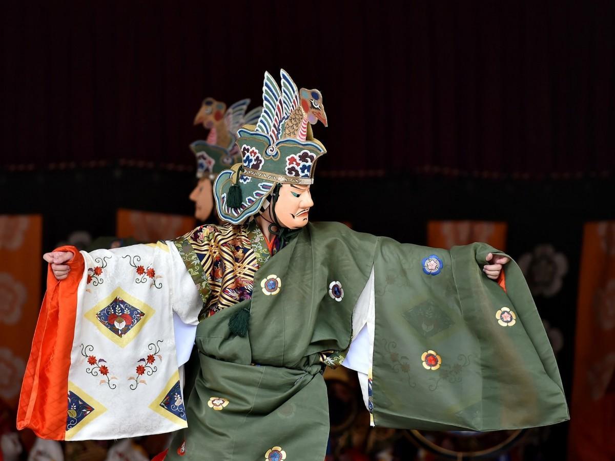 伊勢神宮内宮で秋の神楽祭 21年ぶりの演舞「皇仁庭」も
