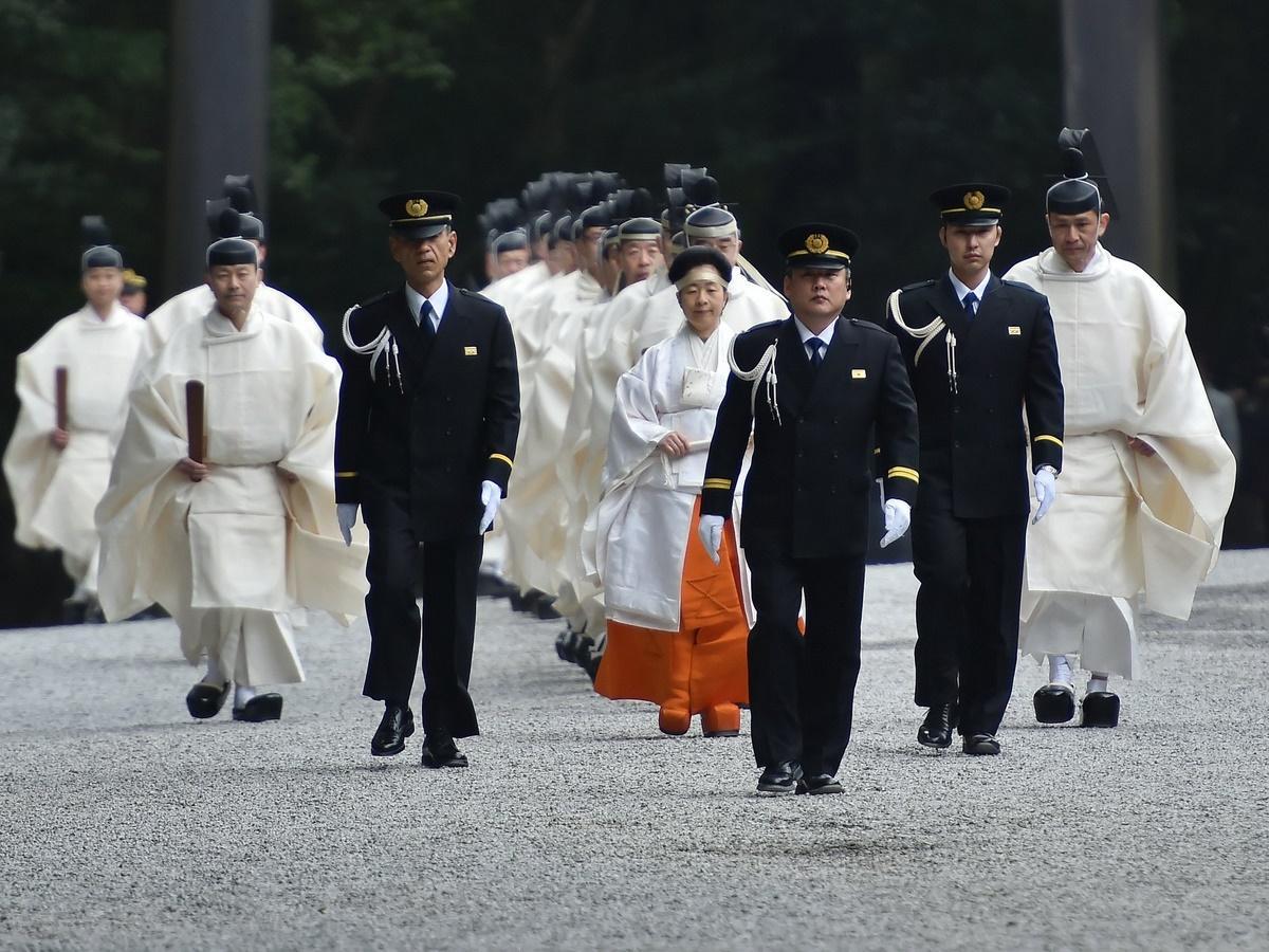 伊勢神宮で一年の五穀豊穣祈る「祈年祭」 黒田清子神宮祭主がご奉仕