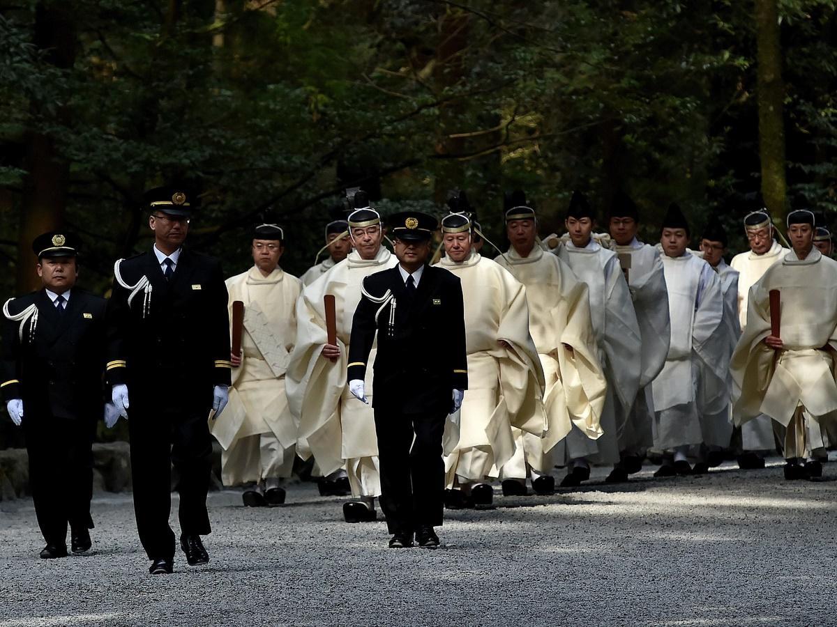 伊勢神宮で天皇陛下即位30年を祝う臨時祭