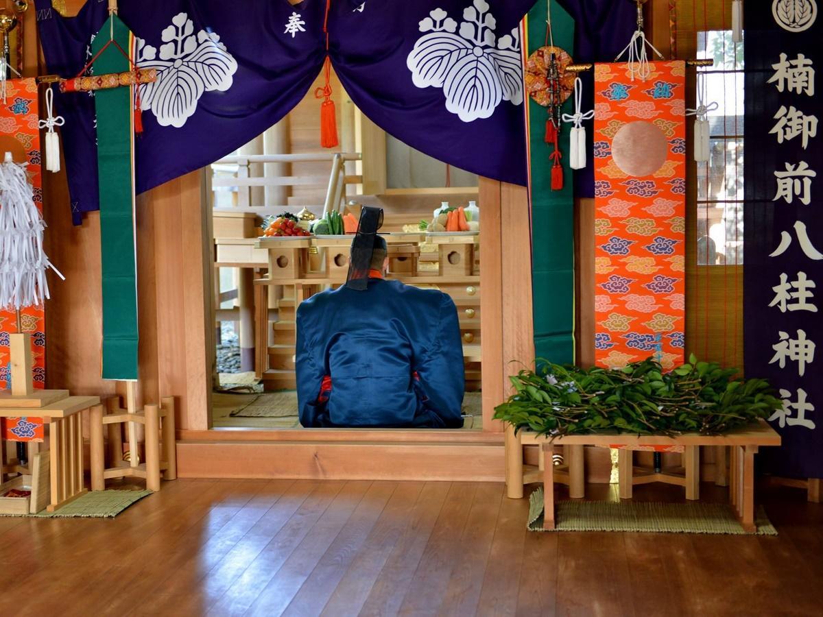 志摩の「楠の宮(楠御前八柱神社)」例祭 ヤマトタケルの姉祭る