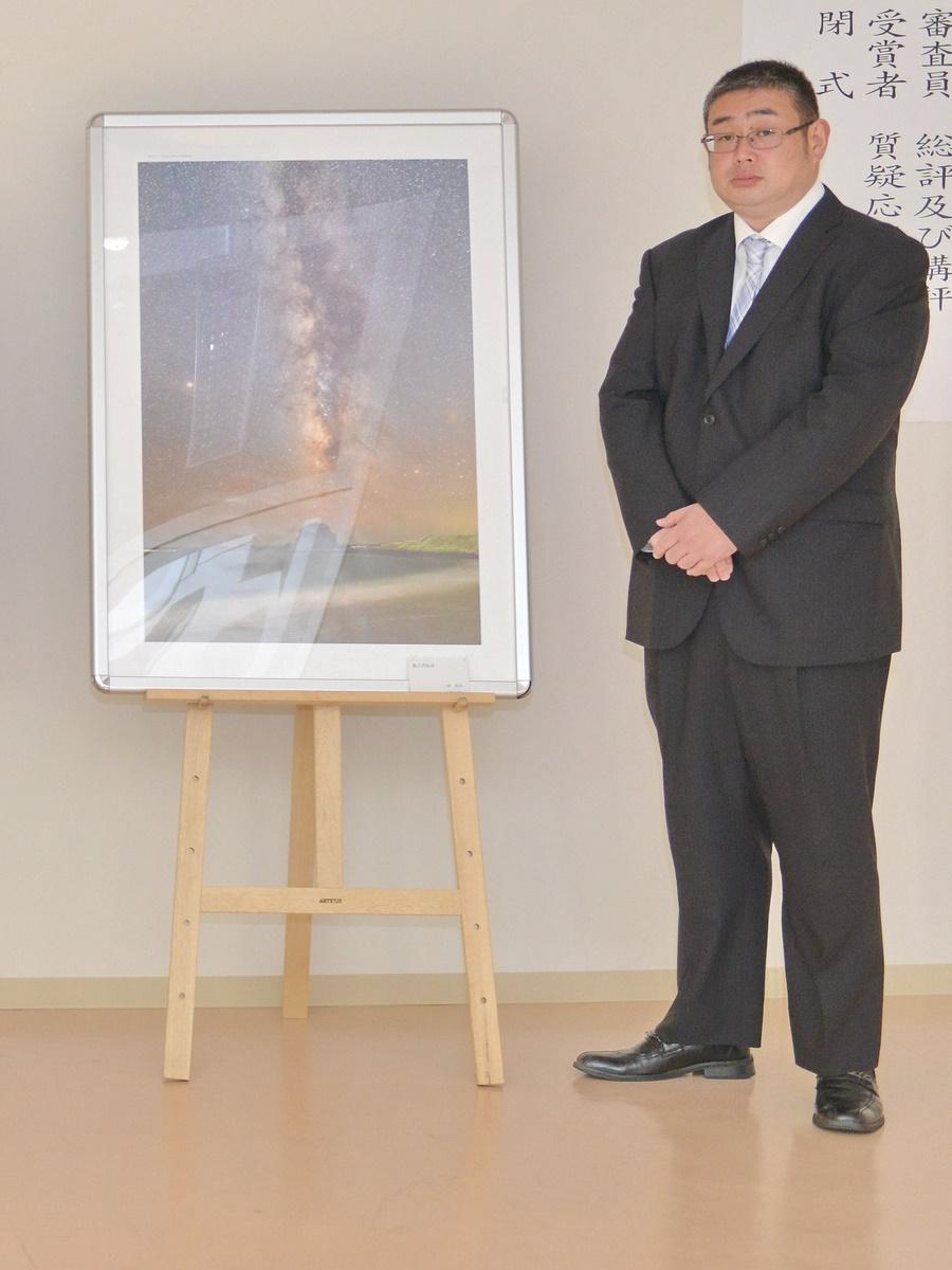 志摩市の写真コンテスト グランプリは「海から立ち上がる天の川」写した作品