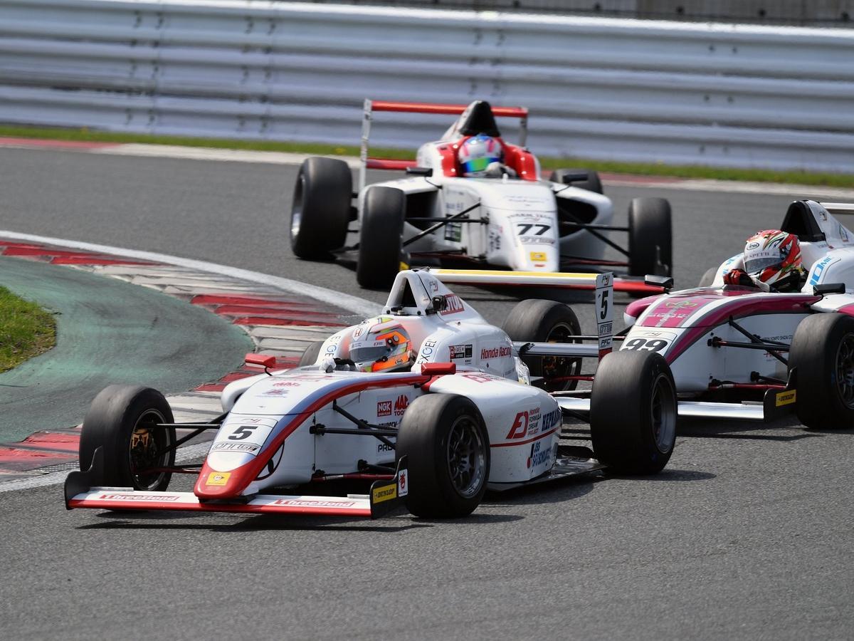 伊勢出身の三宅淳詞選手、富士FIA-F4レース第3第4レースは11位と10位(写真=加藤直人)