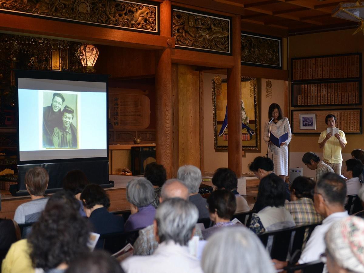 伊勢の寺院で詩人・竹内浩三「生誕祭」 2年後の生誕100年に向け思い込める