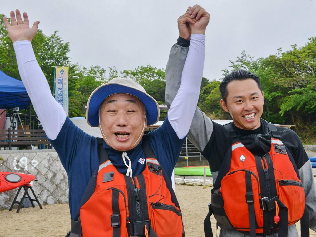 志摩市長と北島康介さんのガチバトル 動画をインターネットで公開