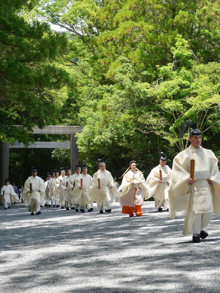 伊勢神宮125社で令和最初の「月次祭」 黒田清子神宮祭主が3日間奉仕