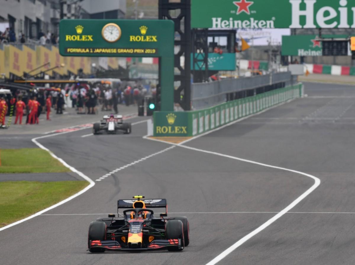 F1日本GP開幕するも台風19号接近で土曜はクローズドに(撮影=加藤直人)