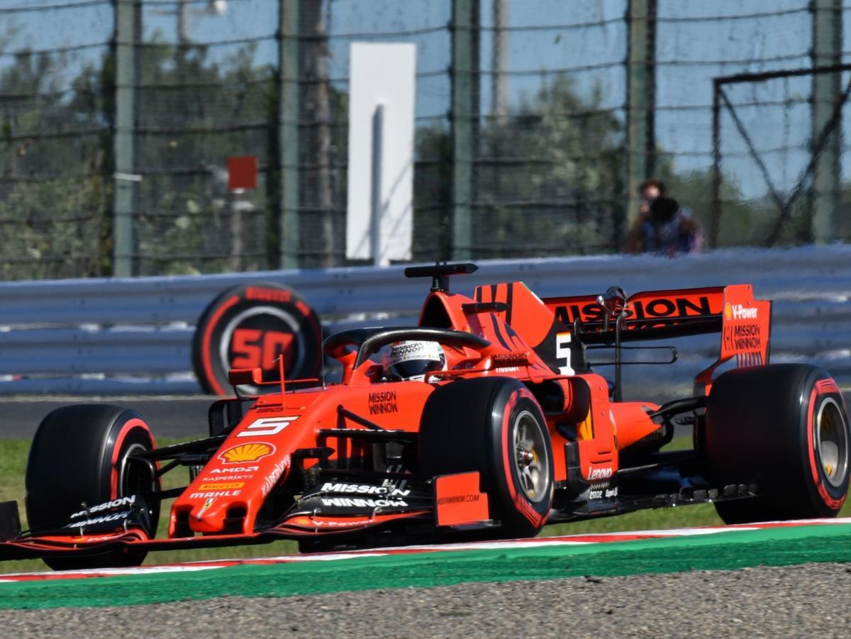 F1日本GP、ポールポジションはフェラーリ・セバスチャン・ベッテル選手(撮影=加藤直人)