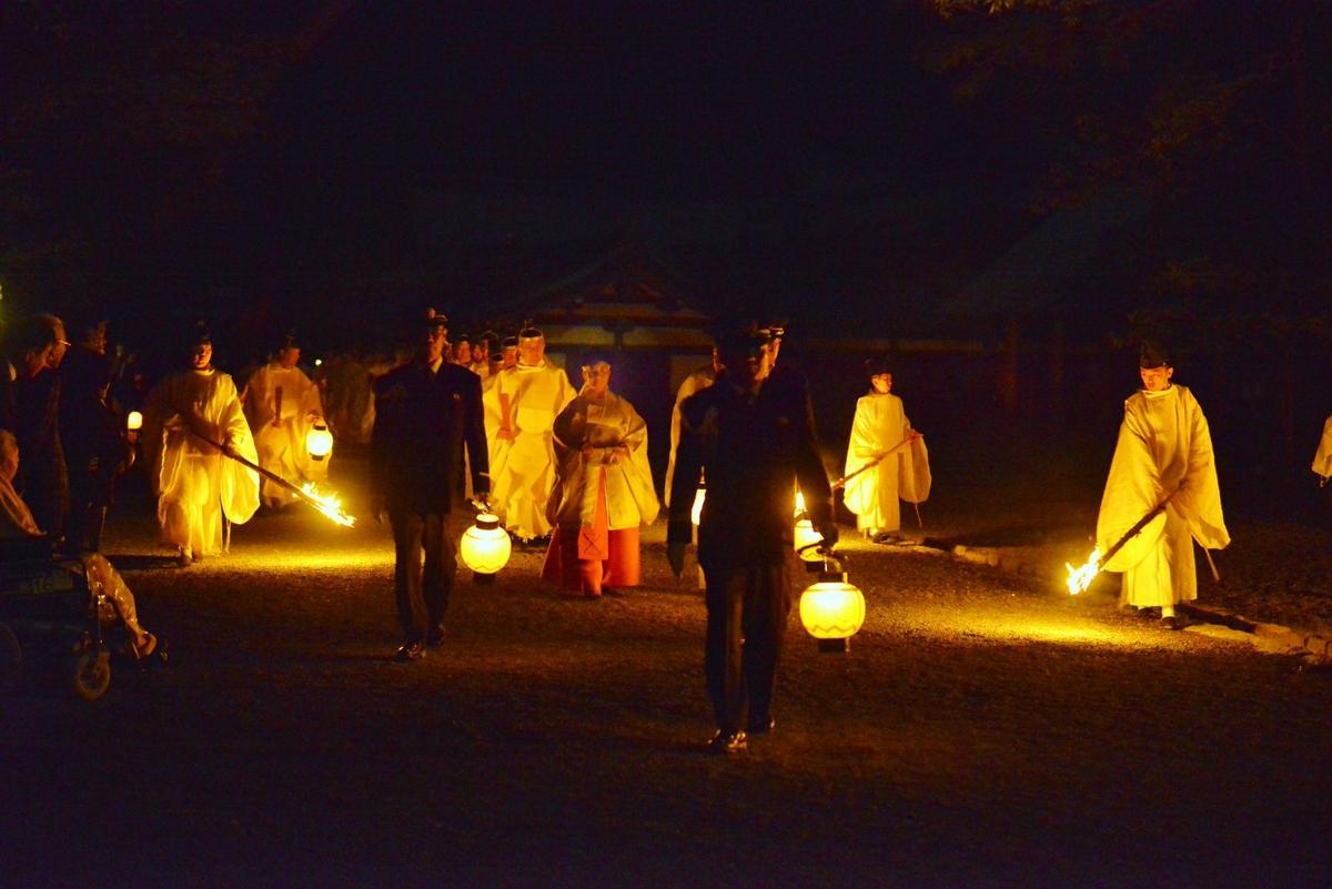 伊勢神宮125社で令和最初の神嘗祭 外宮内宮は月明かりで幻想的に
