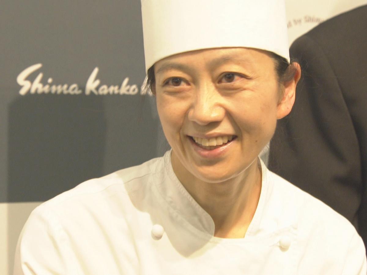 志摩観光ホテルの樋口宏江総料理長がNHKの番組「プロフェッショナル」に登場(写真提供NHK)