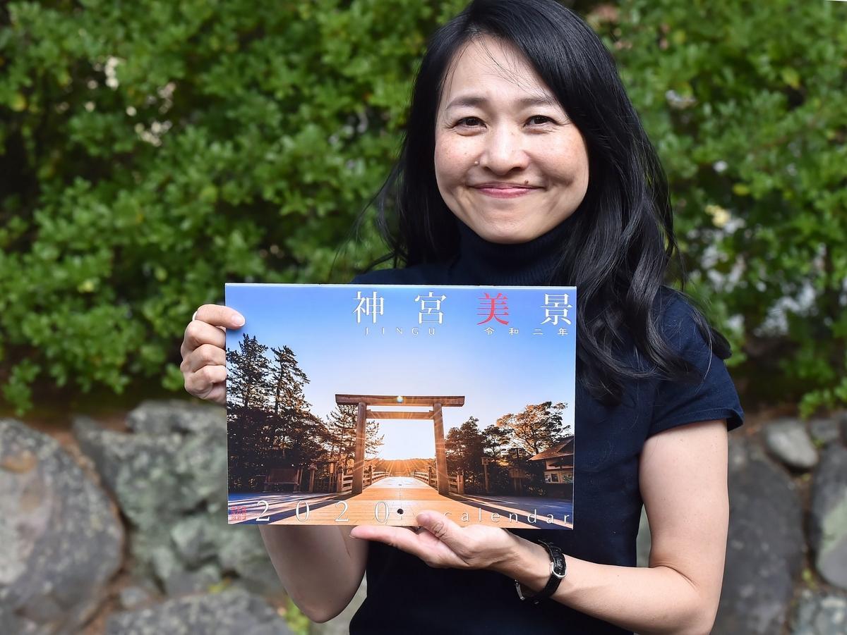 写真家のKankanさん、2020年版「伊勢神宮カレンダー」完成