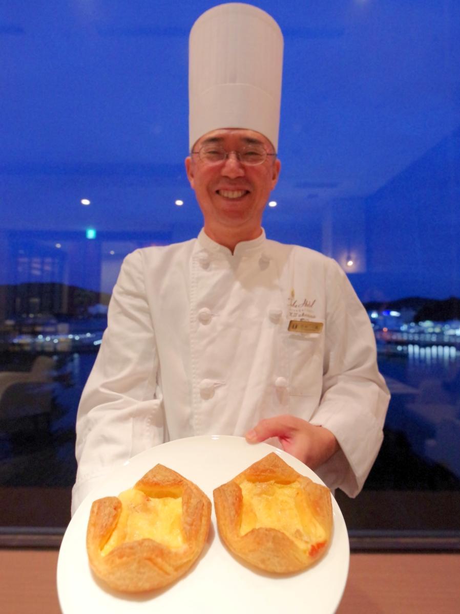 鳥羽国際ホテル「人気の売れないチーズケーキ」利用のパン SDGsで新商品に(撮影=岩咲滋雨)