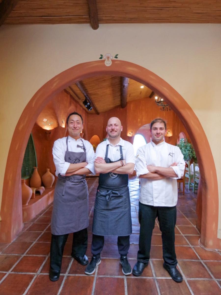 「志摩地中海村」レストラン スペインのミシュラン1つ星店提携1周年(撮影=岩咲滋雨)