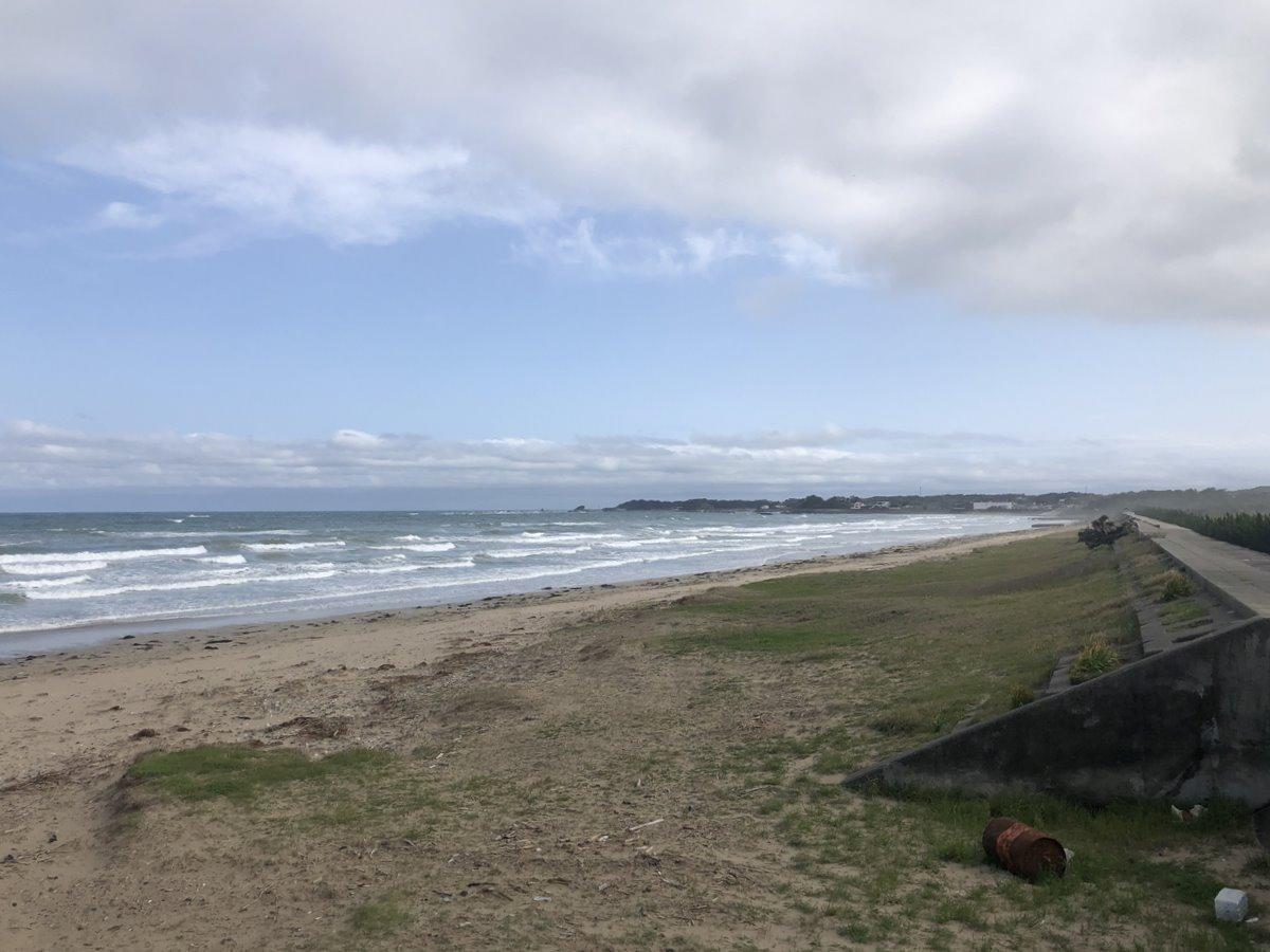 「志摩のサーフスポットに誰もいない」市と地元団体がサーフィン遊泳禁止呼び掛け