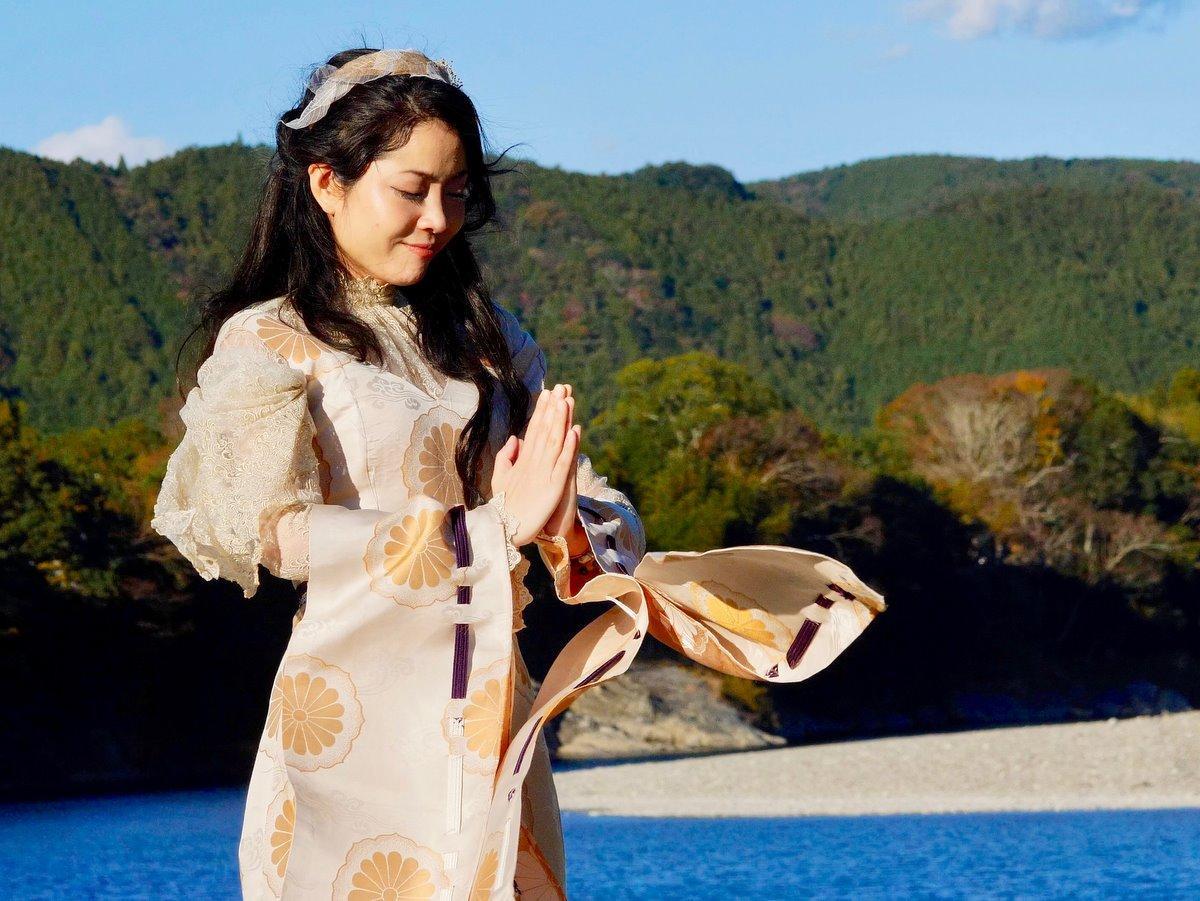 現役神職で歌手の「涼恵」さんがCDリリース 伊勢の音楽家・長岡成貢さんプロデュース