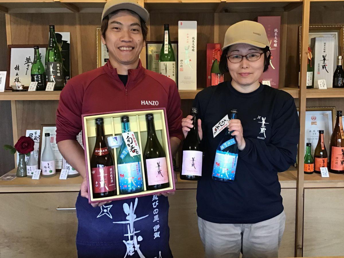 「三重の酒蔵応援プロジェクト」毎週週替りで6蔵の日本酒、5酒販店が販売 (写真提供=同プロジェクト)