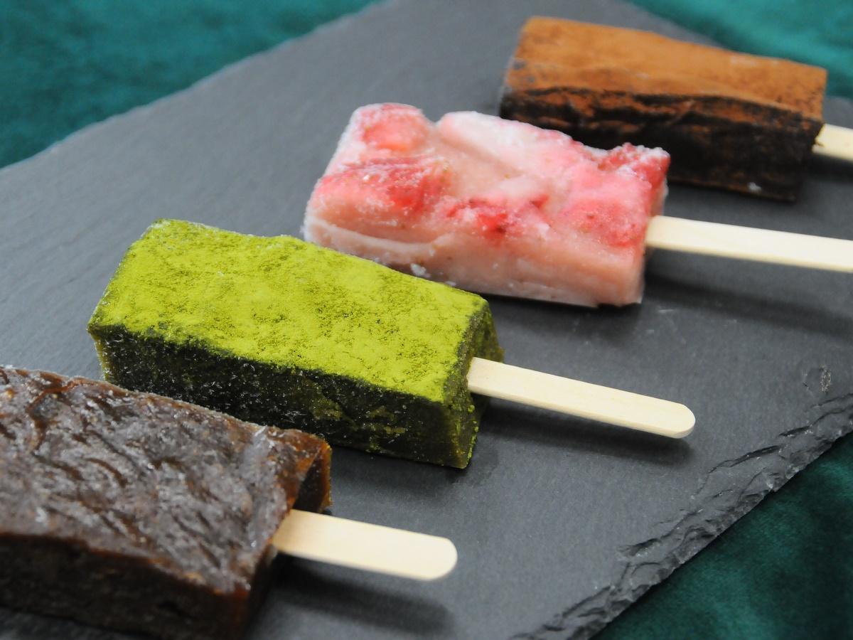 わらび餅を製造販売する「伊勢古仁屋」、溶けないアイスを新発売