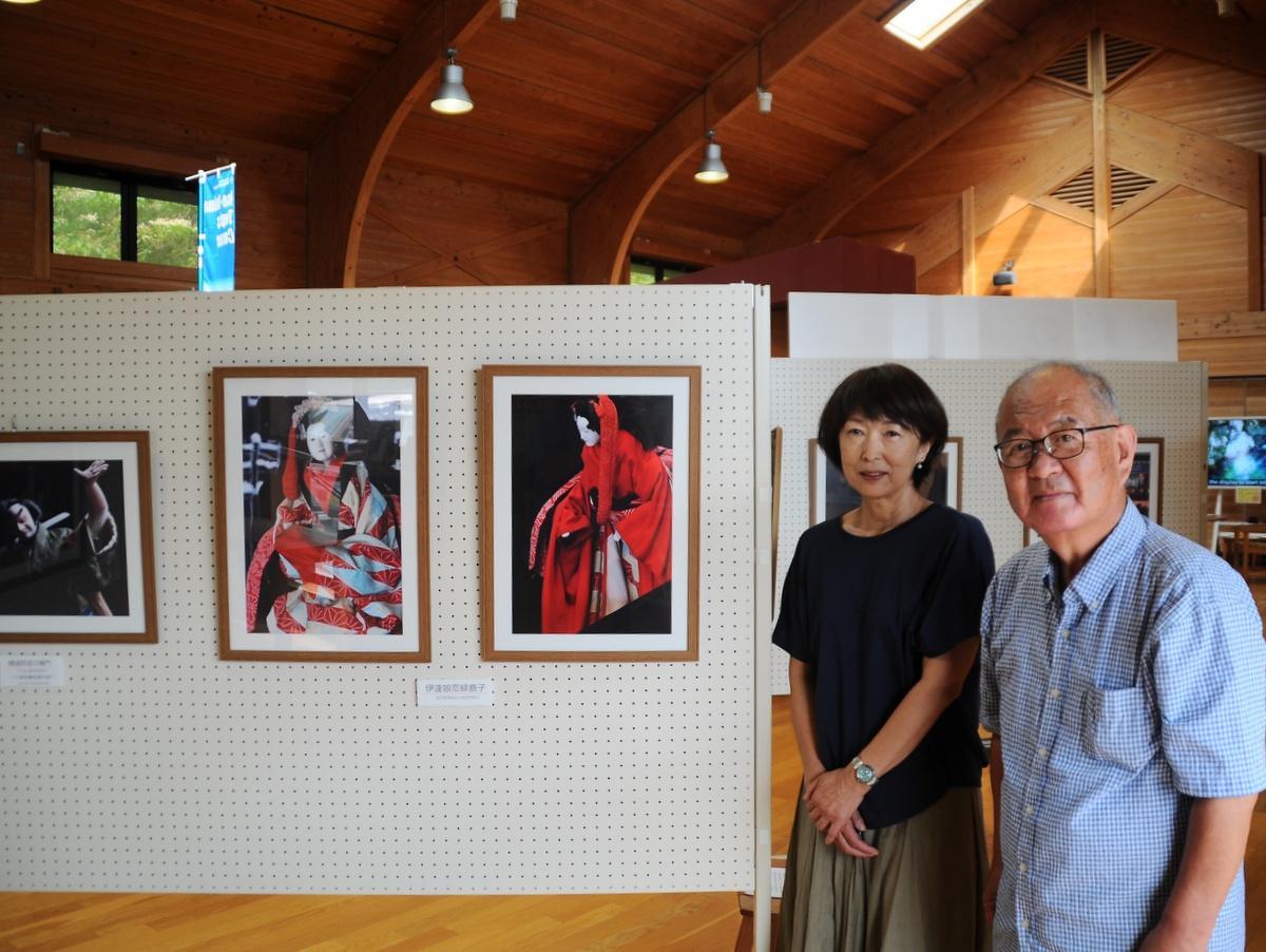 志摩・横山ビジターセンターで「安乗文楽」写真展 公演中止受け企画
