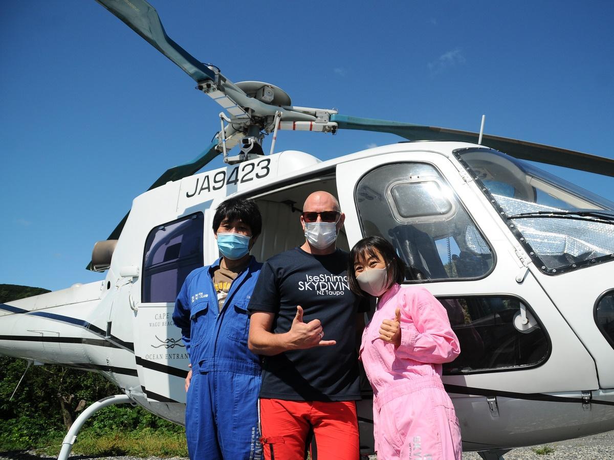 伊勢志摩スカイダイビング、ニュージーランド出身インストラクター入国で再開