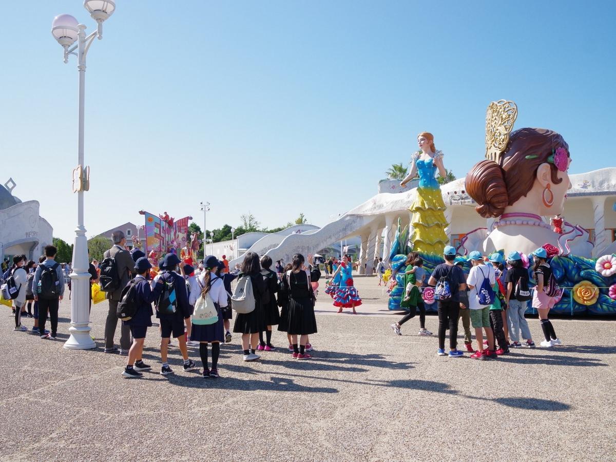 志摩スペイン村、修学旅行利用が昨年の2倍に増加