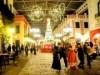 志摩スペイン村にクリスマスツリー 夕暮れに約20万個のイルミネーション