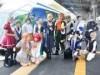 近鉄特急「しまかぜ」にコスプレイヤー 志摩スペイン村でコスプレイベント
