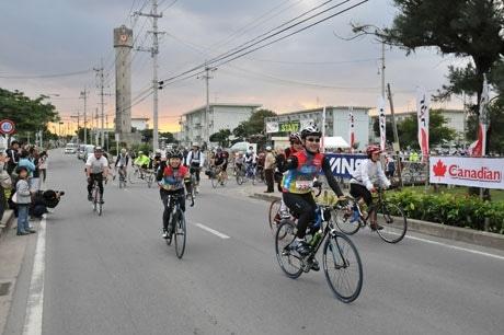 自転車で石垣島を楽しむエコサイクルイベント「石垣島アースライド2008」が開催した