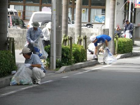 石垣市で「まちなかクリーンアップ大作戦」を実施