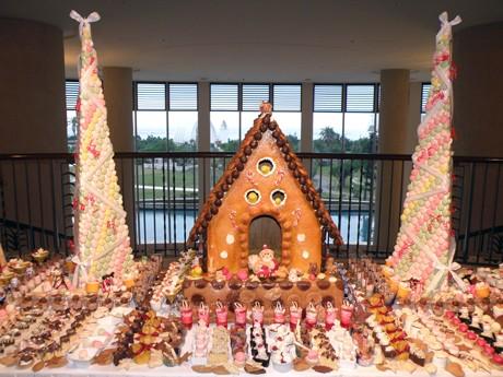 ANAインターコンチネンタル石垣リゾートに今年も「お菓子の家」