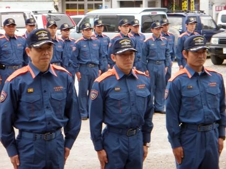 緊急消防援助隊沖縄県隊として石垣市消防本部からも派遣